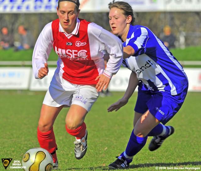 Twee vriendinnen in duel tijdens RCL - RVVH