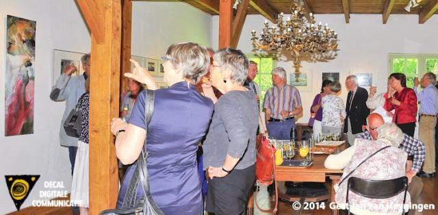 Kunst in de Polder met Cea Maat bij Dirk en Annemarie Kolff