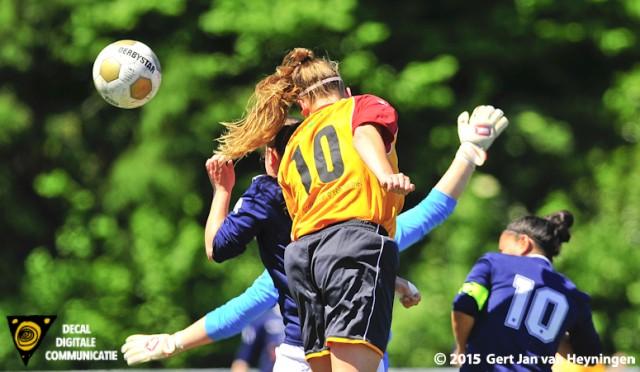 Finale Regio Rijnmond Cup tussen SVS - Berkel