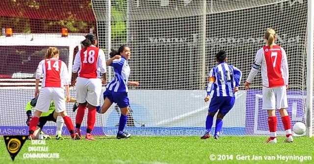 Finale Regio Rijnmond Cup 2014 tussen RCL en SVS
