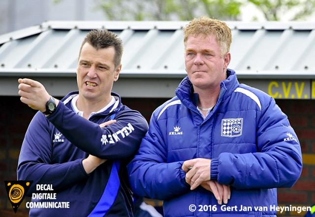 Links Cees Kruys en rechts Johan van Aalst