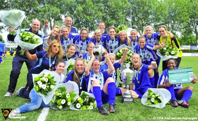 RVVH vrouwen gaan komend seizoen voor de hoofdprijs.