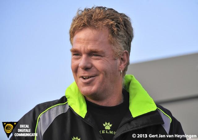 Teammanager Johan van Aalst van cvv Berkel uit Lansingerland.