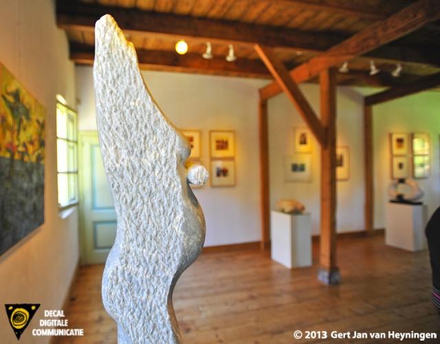 Kunst in de Polder met beelden van Wilco van Hoogdalem