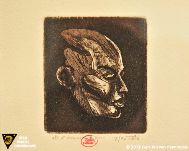 Kunst in de Polder bij Galerie Kolff met grafiek van Fathel Neema