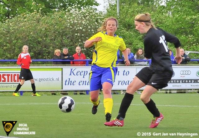 KNVB Bekerfinale tussen Velsen - VVIJ