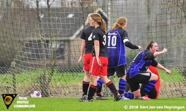 Lenny Stoutjesdijk van Smerdiek scoorde de 3-4.