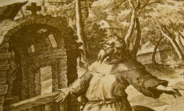 Theobaldus van Provins voor de Kapel